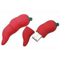 Microware Hot Chilli Shape Designer 4Gb Facy Pen Drive