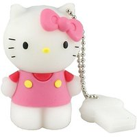 Microware Hello Kitty Shape 16 Gb Pen Drive JKL230