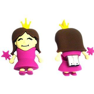 Microware Princess Shape 16 Gb Pen Drive JKL306