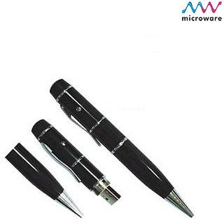 Microware Pen With Laser Pointer Shape 16 Gb Pen Drive JKL260
