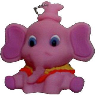 Microware Pink Elephant Shape 16 Gb Pen Drive JKL315
