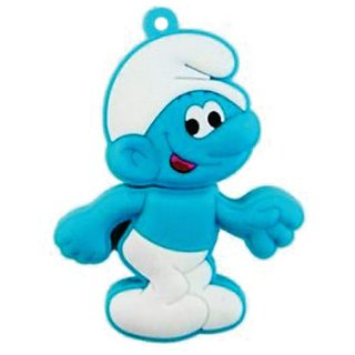 Microware Smiley Smurf Shape 16 Gb Pen Drive JKL266