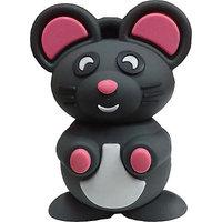 Microware Bunny Rate Mouse Shape 16Gb Pen Drive JKL344