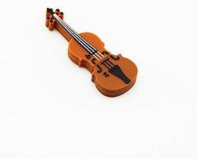 Microware Violin Shape 8 Gb Pen Drive JKL436