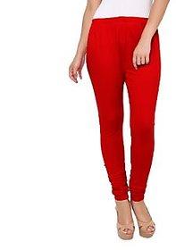 Medha Red Leggings