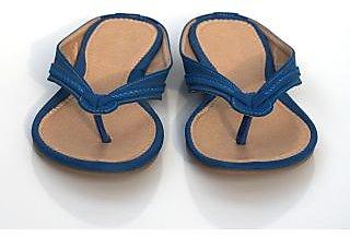 Women's Blue Flip Flops