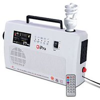 Ipro Heavy Duty Cfl Inverter With Fm Radio, Usb, Sd Card Reader  Remote Control