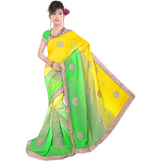 Fancy Cording Work Saree