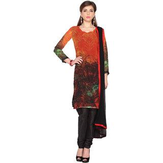 Multi Color Digital Printed Unstitched salwar suit with dupatta (20093)