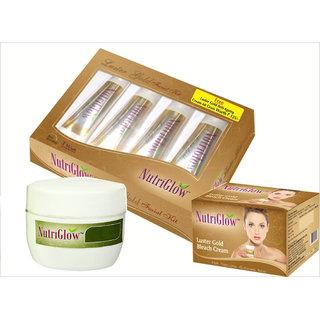 Gold Facial Kit, Bleach  Anti Ageing Cream with Vitamin E