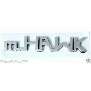 LOGO mHAWK MONOGRAM EMBLEM BADGE for MAHINDRA SCORPIO MHAWK S4 S6 S8  TOP R