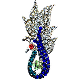 B-Fashionable Sailing Peacock Brooch