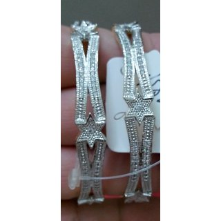 American Designer Diamond Bangles Modernistic LM097