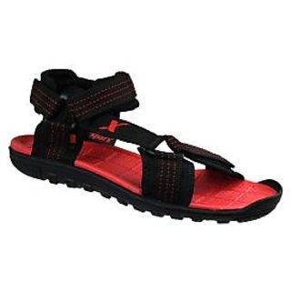 Sparx Black Red  stylish sandals