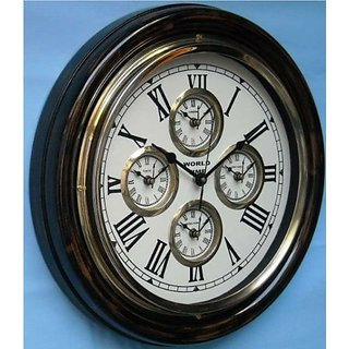 Wall Clock World Time 16