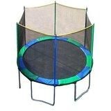 Kamachi Big 10 Ft.trampoline With Safety Net Made In Malashia En