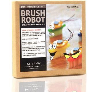 Be Cre8v  Brush Bot Robotics Kit