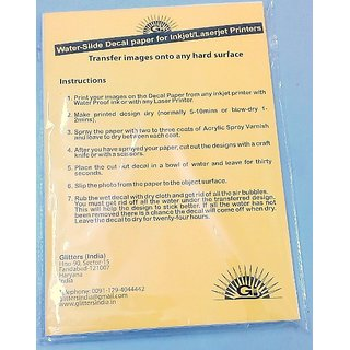 Transfer Paper A4 (50 Sheets)