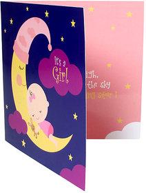 Mydoodlez.com Personalized Moon Baby Girl