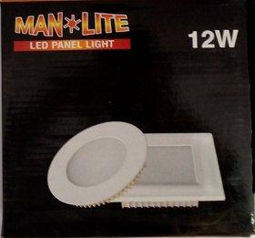 12W Square Panel Light (Mna Light, 4Pcs. )