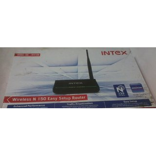INTEX WIRELESS N150 EASY SETUP ROUTER