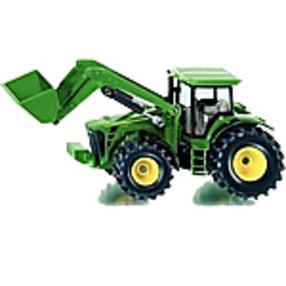 John Deere 7930 With Front Loader And Tipping Trailer