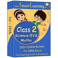 Smartlearning.in CBSE Class 2nd Maths & Science/EVS (DV
