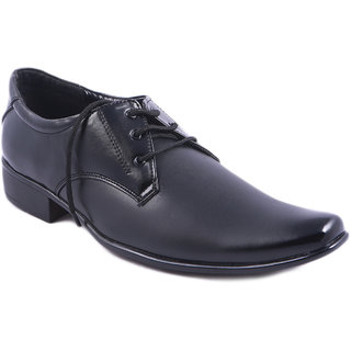 Balujas Black Men's Formal Shoes