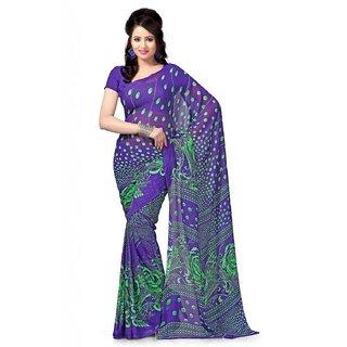 Designer Cotton Printed Saree