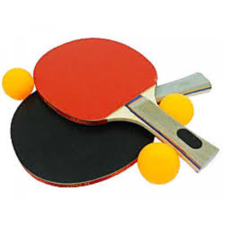 Go Play Table Tennis Rackets with 3 Balls