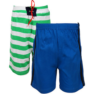 Jazzup Cotton Pack Of 2 Shorts (KZ-RDAC1555)