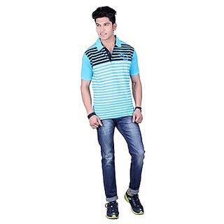 DEUTZ Multi Color Cotton Regular Mens T-Shirt (804)