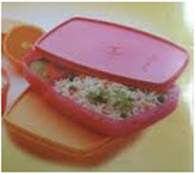 Tupperware Classic Slim Lunch - 1 Pc. Only