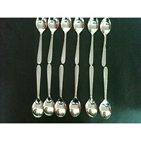 Stainless Steel Spoon Set Of 12 Pcs