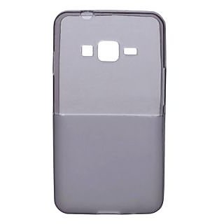 KMS TOTUDESIGN Samsung Z1 Transparent Matte Dualtone Back Cover-Black