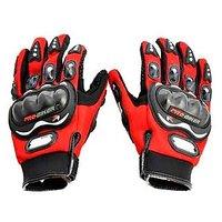Pro Biker Riding Gloves-XXL(Red)