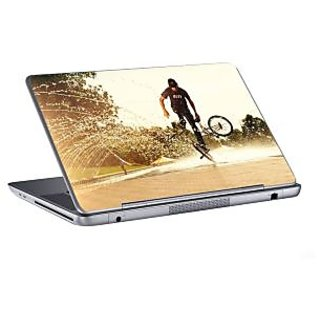 AV Styles stunt with small cycle laptop skin