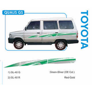Buy Toyota Qualis Gs Body Graphics Sticker Decals Online Get 0 Off