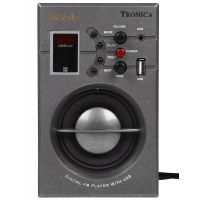 TRONICA MOBILO MP3/FM/AUX PLAYER WITH SPEAKER  RECHARGEABLE BATTERY