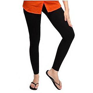 Full length leggings-Black