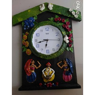 Wall clock antique for decoration
