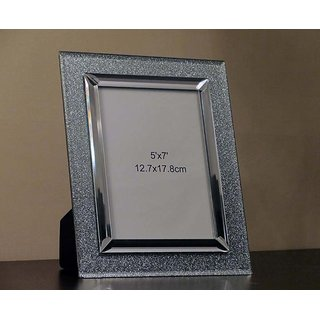 d4e1fca79cd1 Buy Silver Sparkle Photo Frame Online   ₹750 from ShopClues