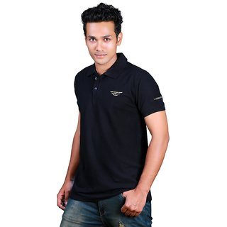 Vestes Polo T-Shirt Black