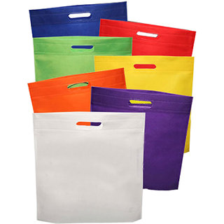 MANBHARI NON WOVEN BAGS(16X20),PACK OF 500 PIECES.