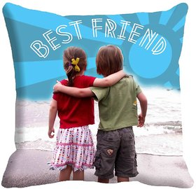 Best friends Friendship Day Cushion Cover (16x16)