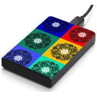MeSleep Square Circle Hard Drive Skin