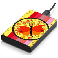 MeSleep Stripe Butterfly Hard Drive Skin