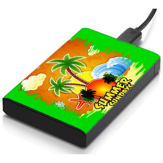 MeSleep Summer Sundays Hard Drive Skin
