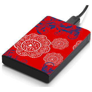 MeSleep Red Ethinic Hard Drive Skin