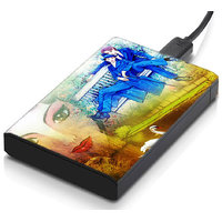 MeSleep Yellow Couple Hard Drive Skin